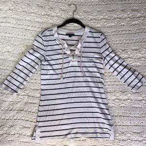 🤍TOMMY HILFIGER STRIPED TUNIC TOP🤍